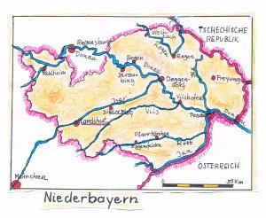 2015_07_07 Niederbayern Karte - 2