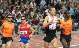 Blinde Läufer, Paralympics; Quelle: pixabay