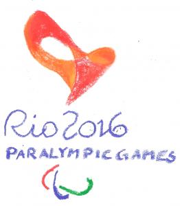 Logo Paralympic Games 2016; Zeichnung: privat